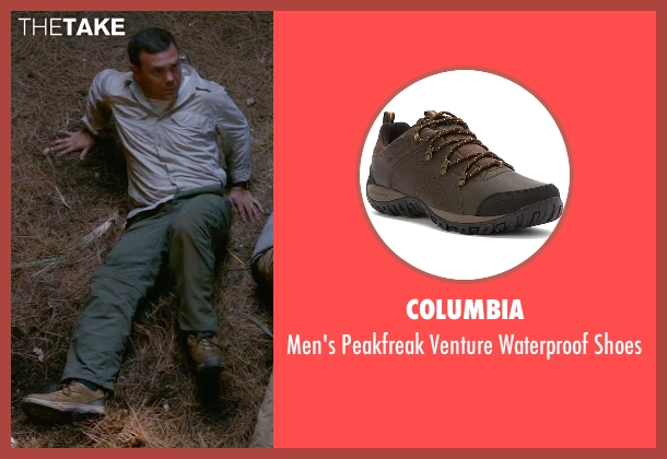 Columbia brown shoes from Brooklyn Nine-Nine seen with Charles Boyle (Joe Lo Truglio)
