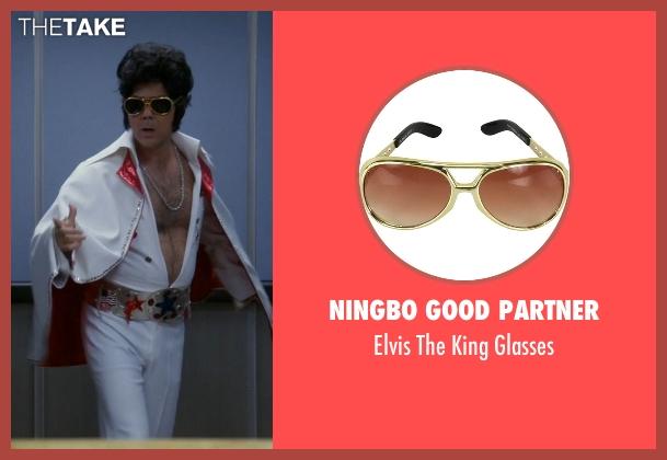 Ningbo Good Partner glasses from Brooklyn Nine-Nine seen with Charles Boyle (Joe Lo Truglio)