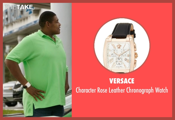 Versace black watch from Ballers seen with Charles Greane (Omar Benson Miller)