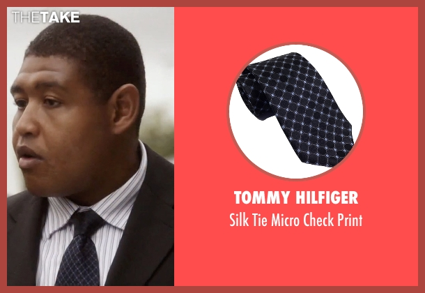 Tommy Hilfiger blue print from Ballers seen with Charles Greane (Omar Benson Miller)