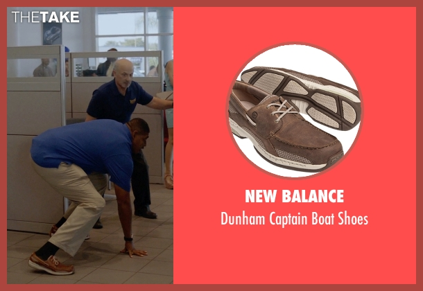 New Balance brown shoes from Ballers seen with Charles Greane (Omar Benson Miller)