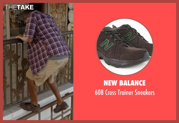 New Balance brown sneakers from Ballers seen with Charles Greane (Omar Benson Miller)