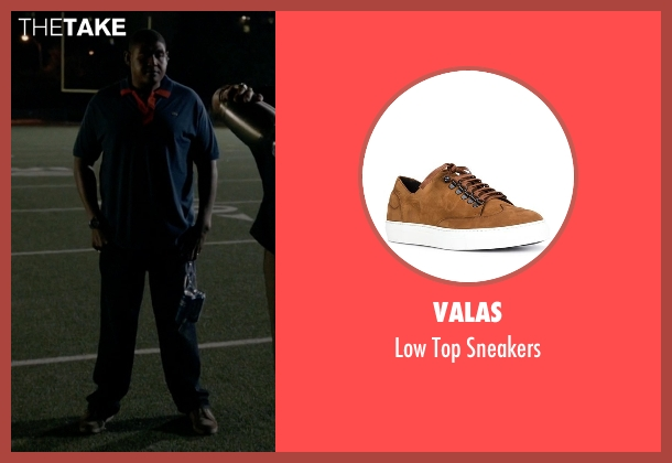 Valas brown sneakers from Ballers seen with Charles Greane (Omar Benson Miller)
