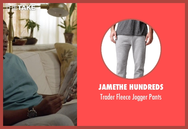 JameThe Hundreds gray pants from Ballers seen with Charles Greane (Omar Benson Miller)