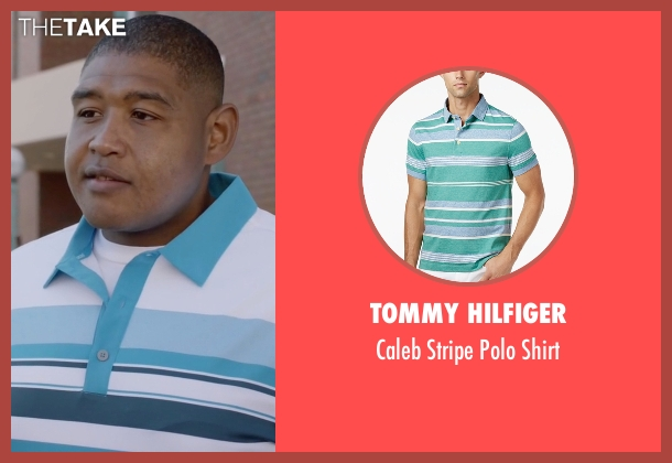 Tommy Hilfiger shirt from Ballers seen with Charles Greane (Omar Benson Miller)