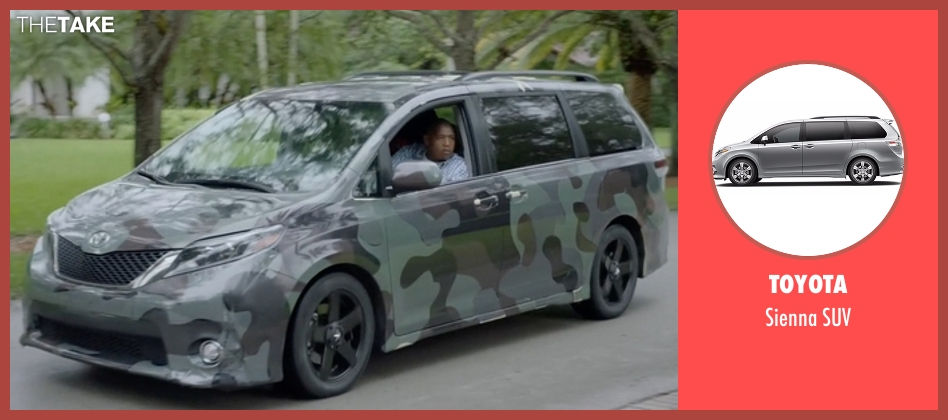 Toyota suv from Ballers seen with Charles Greane (Omar Benson Miller)