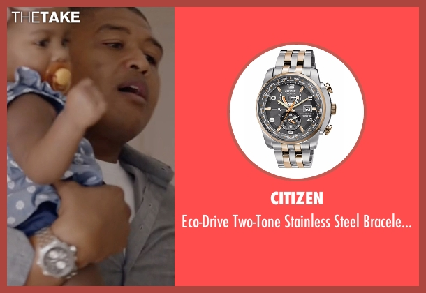 Citizen watch from Ballers seen with Charles Greane (Omar Benson Miller)