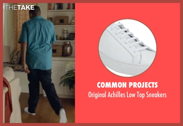 Common Projects white sneakers from Ballers seen with Charles Greane (Omar Benson Miller)