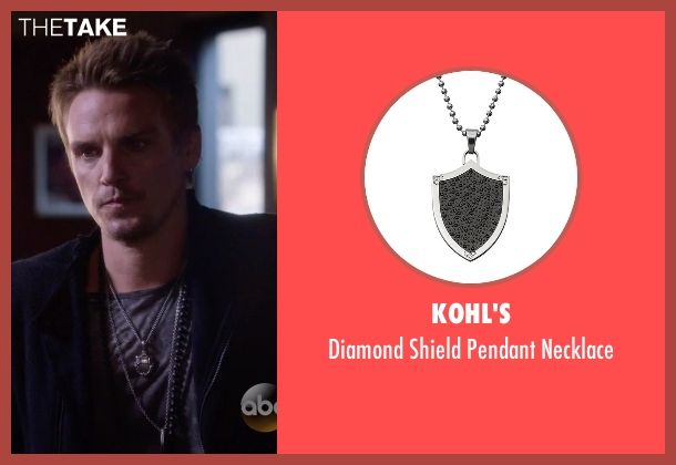 Kohl's silver necklace from Nashville seen with Charles Wentworth (Charlie Bewley)