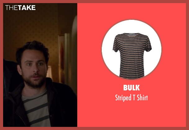 Bulk beige shirt from Horrible Bosses 2 seen with Charlie Day (Dale Arbus)