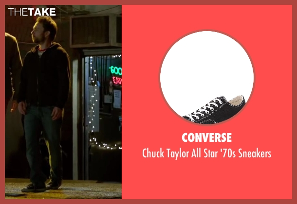 Converse black sneakers from Horrible Bosses 2 seen with Charlie Day (Dale Arbus)