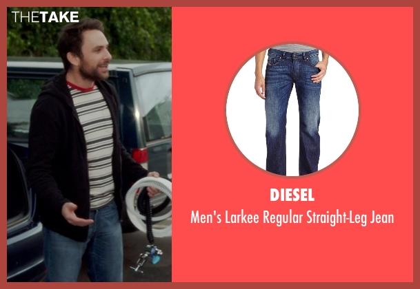 Diesel blue jean from Horrible Bosses 2 seen with Charlie Day (Dale Arbus)
