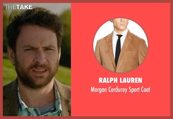 Ralph Lauren brown coat from Horrible Bosses 2 seen with Charlie Day (Dale Arbus)