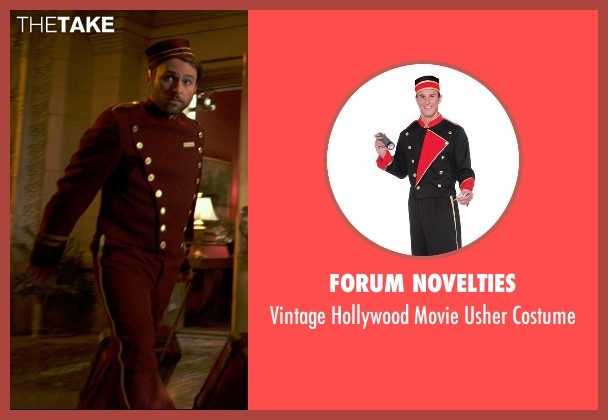 Forum Novelties costume from Horrible Bosses 2 seen with Charlie Day (Dale Arbus)
