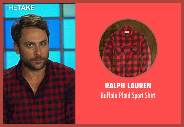 Ralph Lauren red shirt from Horrible Bosses 2 seen with Charlie Day (Dale Arbus)