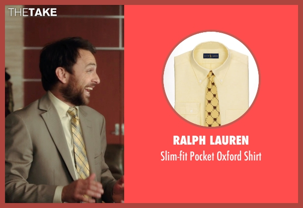 Ralph Lauren yellow shirt from Horrible Bosses 2 seen with Charlie Day (Dale Arbus)