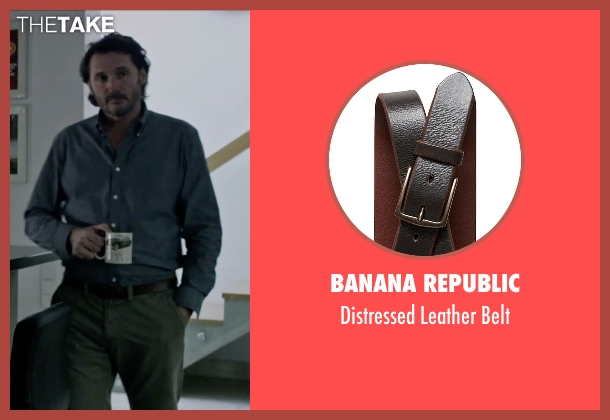 Banana Republic brown belt from The Martian seen with Charlie Gardner (Robert Lewis)