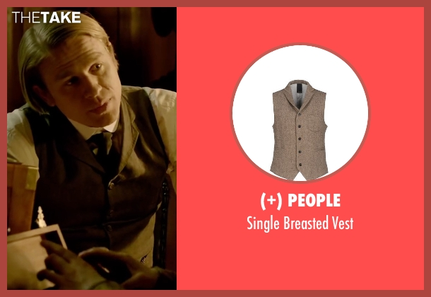 (+) People beige vest from Crimson Peak seen with Charlie Hunnam (Dr. Alan McMichael)