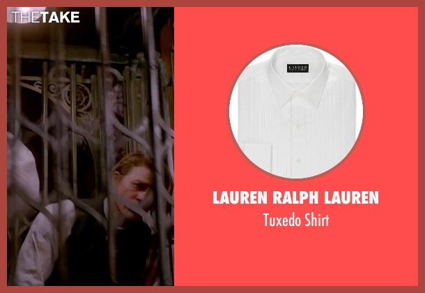 Lauren Ralph Lauren white shirt from Crimson Peak seen with Charlie Hunnam (Dr. Alan McMichael)