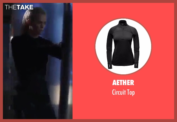 Aether black top from The Fate of the Furious seen with Charlize Theron (Cipher)