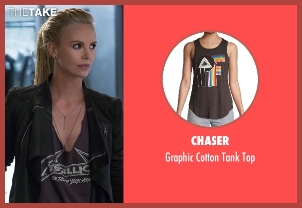 Missguided black top from The Fate of the Furious seen with Charlize Theron (Cipher)