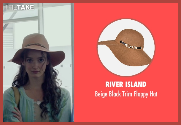 River Island beige hat from The Walk seen with Charlotte Le Bon (Annie Allix)