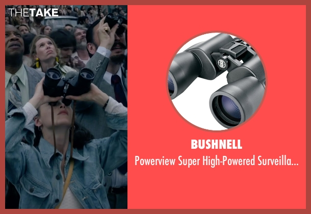 Bushnell binoculars from The Walk seen with Charlotte Le Bon (Annie Allix)