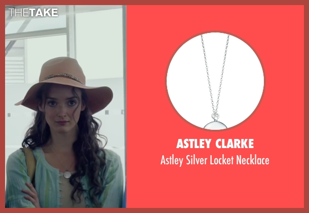 Astley Clarke silver necklace from The Walk seen with Charlotte Le Bon (Annie Allix)