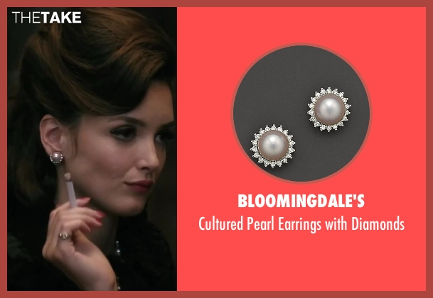 Bloomingdale's diamonds from Yves Saint Laurent seen with Charlotte Le Bon (Victoire Doutreleau)