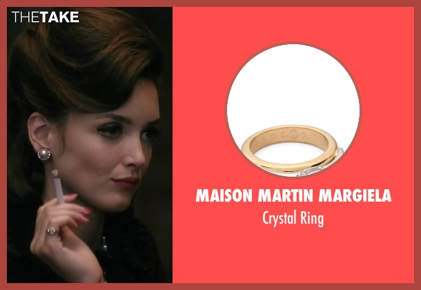 Maison Martin Margiela ring from Yves Saint Laurent seen with Charlotte Le Bon (Victoire Doutreleau)