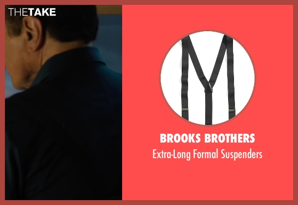 Brooks Brothers black suspenders from Legend seen with Chazz Palminteri (Angelo Bruno)
