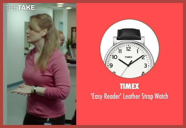 Timex black watch from If I Stay seen with Chelah Horsdal (Liddy)
