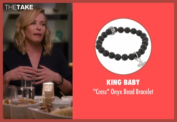 King Baby black bracelet from Chelsea seen with Chelsea Handler