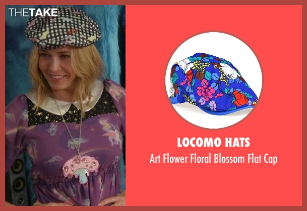 Locomo Hats black cap from Chelsea seen with Chelsea Handler