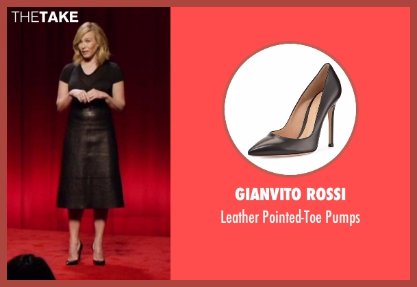 Gianvito Rossi  black pumps from Chelsea seen with Chelsea Handler