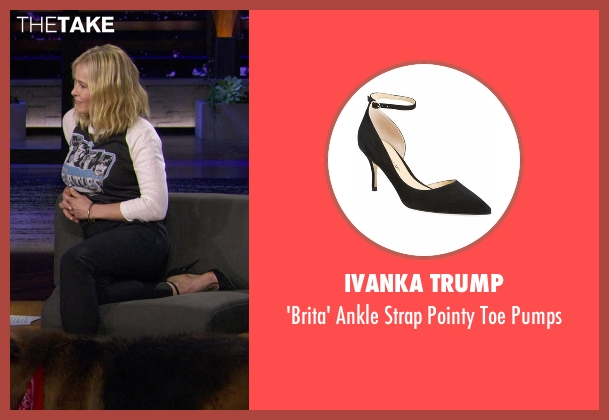 Ivanka Trump black pumps from Chelsea seen with Chelsea Handler