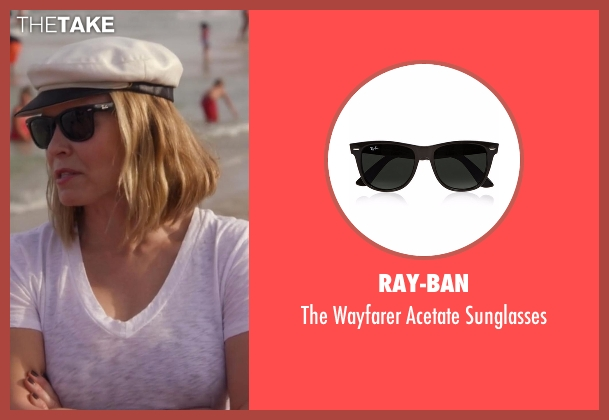 Ray-Ban black sunglasses from Chelsea seen with Chelsea Handler