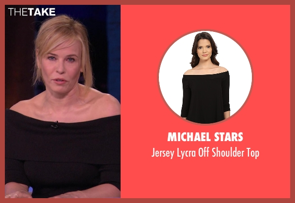 Michael Stars black top from Chelsea seen with Chelsea Handler