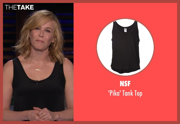 NSF black top from Chelsea seen with Chelsea Handler