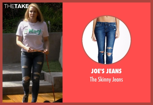 Joe's Jeans blue jeans from Chelsea seen with Chelsea Handler