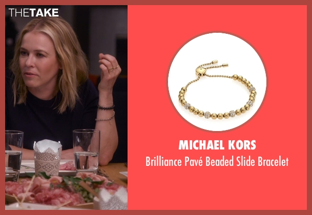 Michael Kors gold bracelet from Chelsea seen with Chelsea Handler