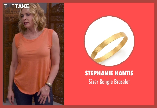 Stephanie Kantis gold bracelet from Chelsea seen with Chelsea Handler
