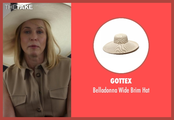 Gottex white hat from Chelsea seen with Chelsea Handler