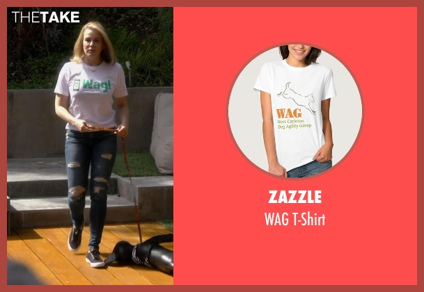 Zazzle white t-shirt from Chelsea seen with Chelsea Handler