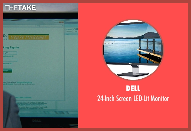 Dell monitor from The Other Woman seen with Chelsea Turnbo (Receptionist)