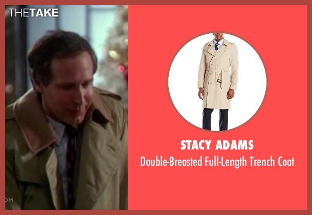 Stacy Adams beige coat from Christmas Vacation seen with Chevy Chase (Clark)