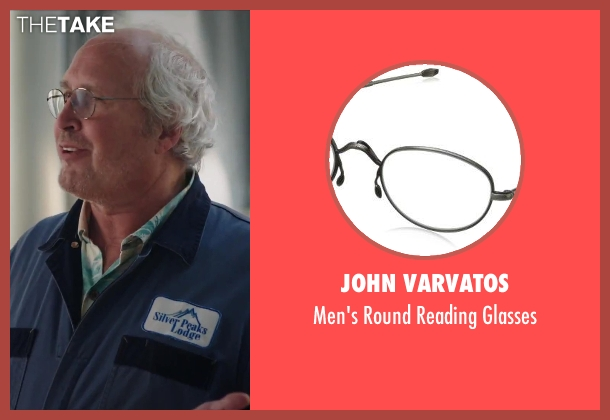 John Varvatos glasses from Hot Tub Time Machine 2 seen with Chevy Chase (Repairman)