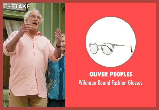 Oliver Peoples black glasses from Vacation seen with Chevy Chase (Clark Griswold)