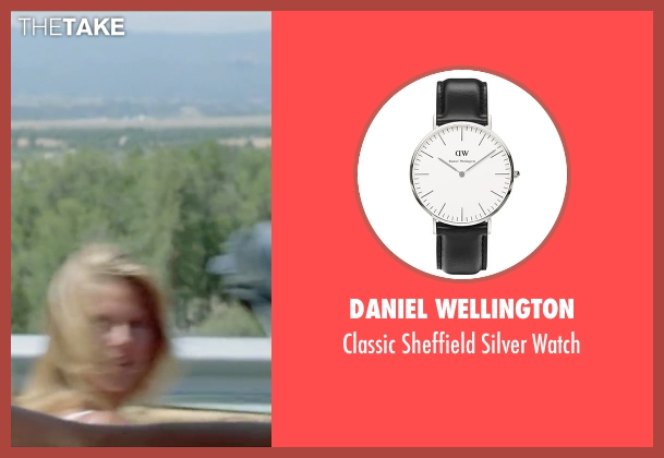 Daniel Wellington black watch from Vacation seen with Chevy Chase (Clark Griswold)