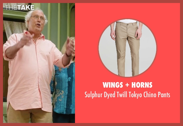 Wings + Horns brown pants from Vacation seen with Chevy Chase (Clark Griswold)